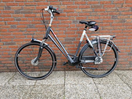 Damesfiets tweedehands gazelle eclipse