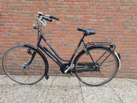 Damesfiets tweedehands gazelle primeur