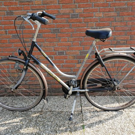 Damesfiets tweedehands gazelle rico
